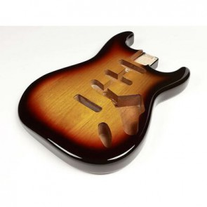 Boston vintage body Strat model 3 piece alder, 2 tone sunburst PU (made in Japan)
