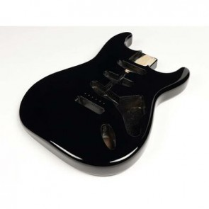 Boston vintage body Strat model 3 piece alder, black PU (made in Japan)