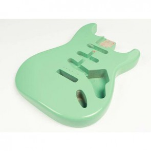 Boston vintage body Strat model 3 piece alder, surf green PU (made in Japan)