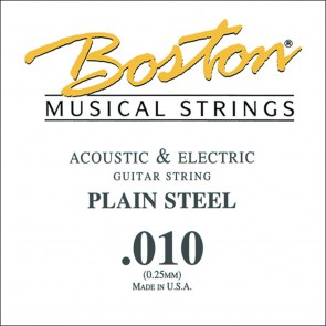 Boston .010 snaar, plain steel