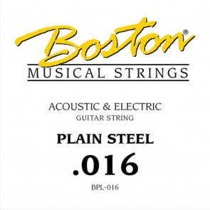 Boston .016 snaar, plain steel