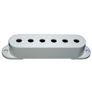 Single Coil Cover white Front
