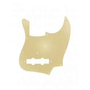 Pickguard Jazz bass, gold mirror, made in Japan