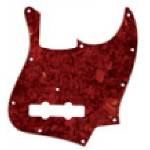 Pickguard Jazz Bass tortoise red Japan, 3 ply