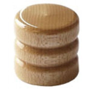 Dome Knob Wood Maple