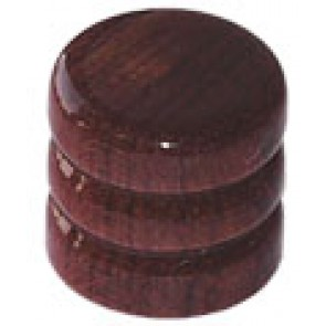Dome Knob Wood Brown