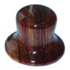 Hat Knob Wood Brown