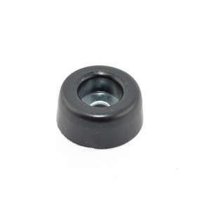 Rubber foot with steel insert 25 x 11 mm