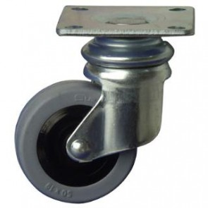 Cabinet Wiel Swivel 50mm