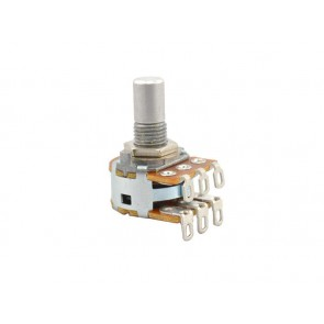 Alpha Potentiometer Dual / Stereo 1 MOhm log / 16 mm