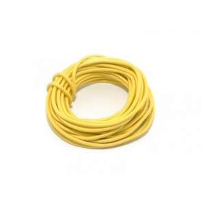 Wire Silicon 0,5 mm2 - yellow