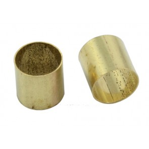 EP-0220-008 Brass Pot Sleeves voor split shaft potmeter