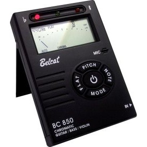 Belcat BC-850 Auto chromeatic Tuner black