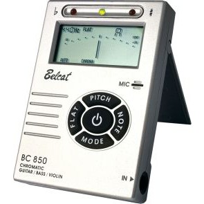 Belcat BC-950 Auto chromeatic Tuner black