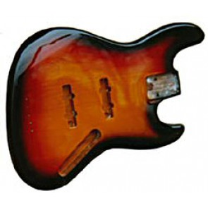 Jazzbass Body Sunburst Swamp Ash