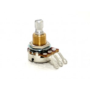 Bourns Potentiometer Mini 500k Log Knurled Shaft