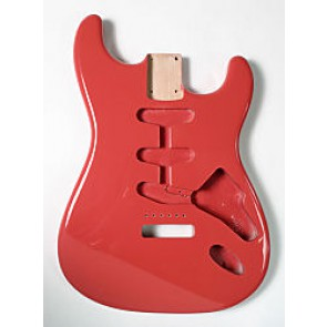 Body Strat-model SSS Fiesta Red Finish
