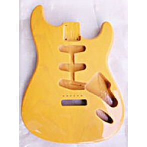 Body Strat model SSS, Butterscotch