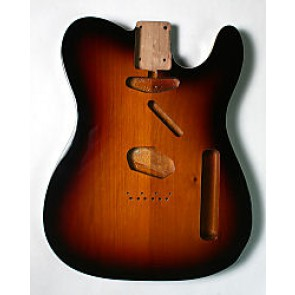 Body Tele model Double Binding 3-tone Sunburst