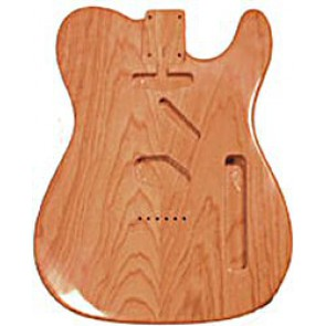 Body Tele Model, Gelakt Swamp Ash