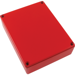 Effect Behuizing 1590BB Style Red
