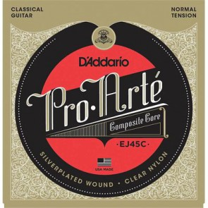 D'Addario Pro Arte Composites snarenset klassiek, normal tension, composite basses, 028-032-040-028-035-044
