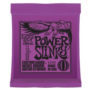 Ernie Ball Guitar Strings Power Slinky 011-048 2220