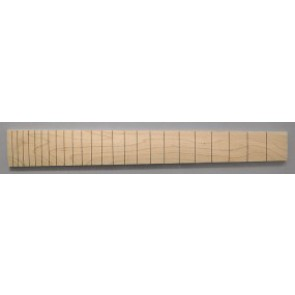 Fingerboard, slotted, maple