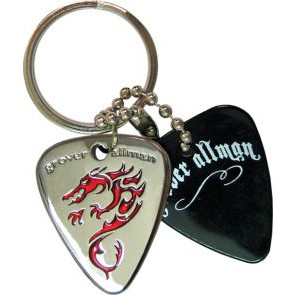GA  Dragon Metal Keyring