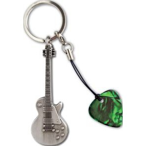 GA  Les Paul(TM) Metal Keyring