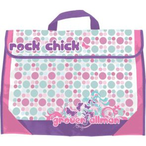 GA  Manuscript Bag Rock Chick