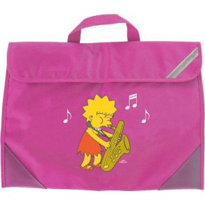 GA  Manuscript Bag Simpsons Lisa