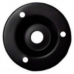 Connector Dish Round, black