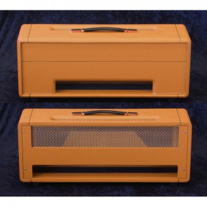 Topbehuizing voor Plexi Kit 100Watt /150Watt Bass Orange Basket Tolex