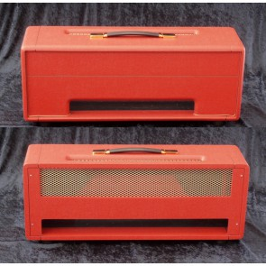 Topbehuizing voor Plexi Kit 100Watt /150Watt Bass Red Elephant