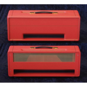 Topbehuizing voor Plexi Kit 100Watt /150Watt Bass Red Levant