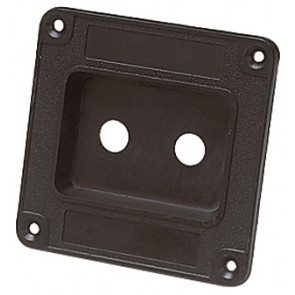 Black Plastic Connector Dish