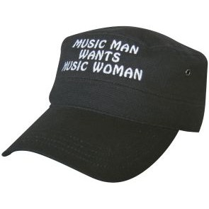 M-Cap black, Musicman wants musicwoman