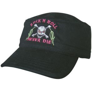 M-Cap black, Rock&Roll will never die