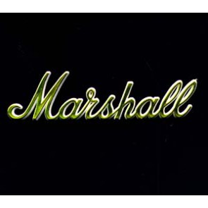 "Marshall Logo 6"", Gold"