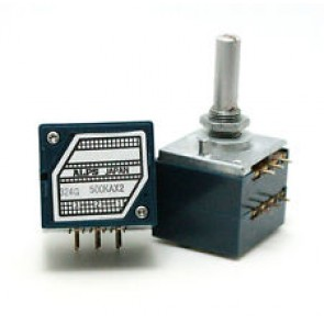ALPS Potentiometer 100KAX2 Stereo 6mm Print