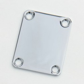Neck plate 4 gaten Chrome