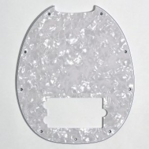 Pickguard Music Man, Pearl White
