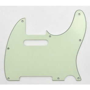 Pickguard Tele vintage mint, 3-laags