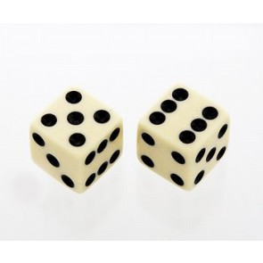 Allparts PK 3250-028 Dice Knoppen cream set