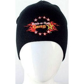 R'n R Gangstar Stretch Beanie blk/red