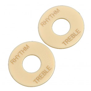 Rhythm treble plaatje LP cream gold