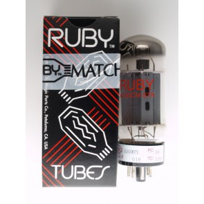 Ruby Tubes 6L6GCMSTR-2, matched pair