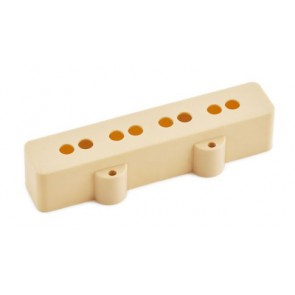 Seymour Duncan Pickup Cover for Jazz Bass, Neck/Short - Creme