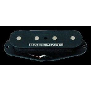 Seymour Duncan SCPB-2 - Hot Single Coil P-Bass Pickup, Flat - Black